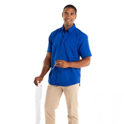 Camisas manga corta con bolsillo hombre